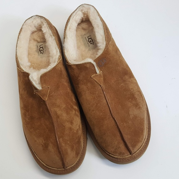 1808568b716 Clog Slippers Shoes Chestnut 3234
